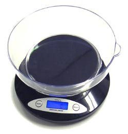 American Weigh 5kg Bowl Scale Black